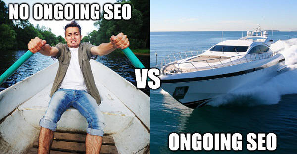 ongoing seo service vs no ongoing seo service